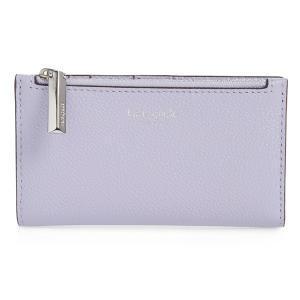 new product 134b1 514d6 ケイトスペード 二つ折り財布 Kate Spade margaux slim bifold wallet (FROZEN LILAC) スリム  ビルホールド 財布 (ライラック)