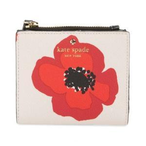 ケイトスペード 二つ折り財布 Kate Spade pwru5891 hyde lane poppy adalyn (rose dew multi) ポピー コンパクト 財布 (ローズマルチ) fromla