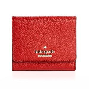 ケイトスペード 二つ折り財布 PWRU5594 Kate Spade  ジャクソン ストリート ジャダ (レッドカーペット) JACKSON STREET JADA (red carpet) fromla