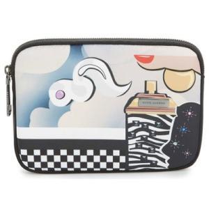 マークジェイコブス iPadケース MARC JACOBS  Mini Tablet Case (Black Multi) ミニ タブレット ケース (ブラックマルチ)|fromla