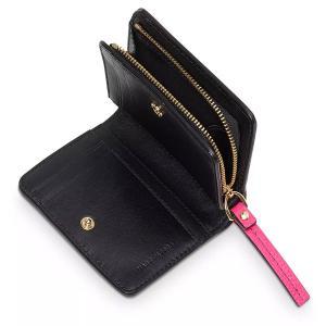 マークジェイコブス 二つ折り財布 M0015107 MARC JACOBS  The Textured Box Mini Compact Wallet (DIVA PINK) レザー ミニ コンパクト 財布 (ディーバピンク)|fromla|02