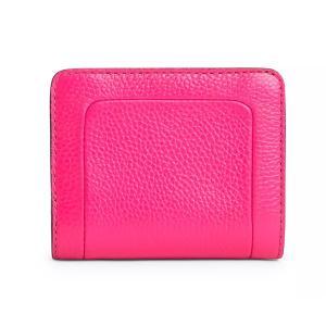 マークジェイコブス 二つ折り財布 M0015107 MARC JACOBS  The Textured Box Mini Compact Wallet (DIVA PINK) レザー ミニ コンパクト 財布 (ディーバピンク)|fromla|03