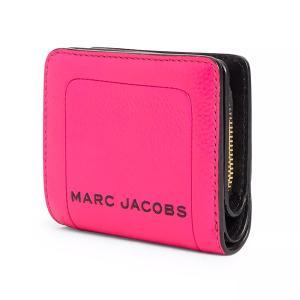 マークジェイコブス 二つ折り財布 M0015107 MARC JACOBS  The Textured Box Mini Compact Wallet (DIVA PINK) レザー ミニ コンパクト 財布 (ディーバピンク)|fromla|04