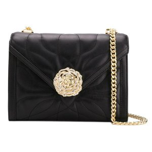 10bbd41fab5d マイケルコース ショルダーバッグ Michael Michael Kors 30H8GWHL7Y Whitney Large Petal  Quilted Leather Shoulder Bag ラージ ショルダー (ブラック)