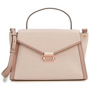 b11285b5171f マイケルコース 2WAYバッグ 30T8SXIS3T Michael Michael Kors Whitney Large Leather  Satchel (Soft Pink/Fawn)ラージ サッチェル (ソフトピンク/パフォーン)