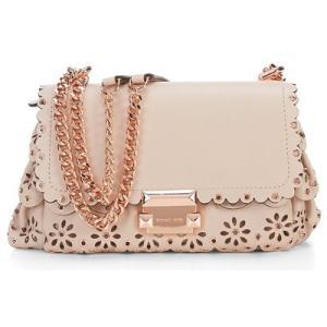 ea4ec9c84c604 マイケルコース ショルダーバッグ 30T8SSLL Michael Michael Kors Sloan Small Floral Scalloped  Leather Shoulder Bag チェーン ...