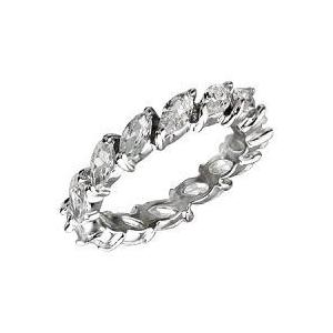 エタニティリング リーフリング 草のデザインリング 豪華指輪