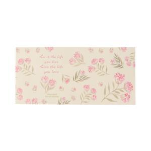 一筆箋 ピンク小花 mp-516