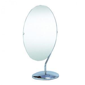 ミラー 鏡 姿見 卓上ミラー 小判型(回転鏡)ミラー ファッションミラー スタンドミラー