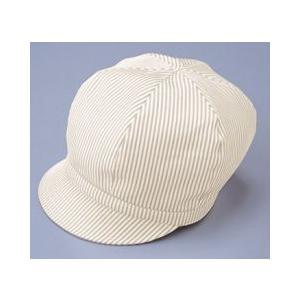 キャップ ストライプ 帽子 ベージュ サンペックス EA-5331|frontierstore