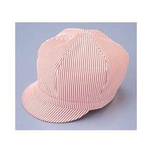 キャップ ストライプ 帽子 ホットチリ 赤 サンペックス EA-5332|frontierstore
