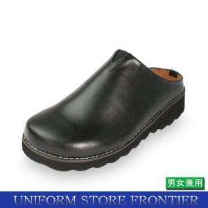 コックシューズ サンダル かかと無し サボシューズ コック靴 防水靴 ホール用シューズ|frontierstore