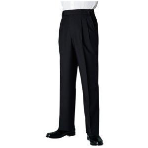 ズボン パンツ スラックス アジャスター付パンツ ブラック frontierstore
