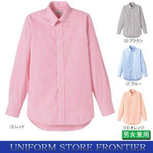 シャツ チェックボタンダウンシャツ 長袖|frontierstore
