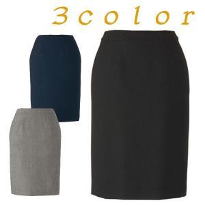 スカート 無地 フィットタイプ オフィス レディース 3カラー ナチュラルストレッチ|frontierstore