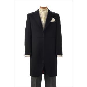ロングコート 《身長165cm〜180cm》 モーニング レンタル 結婚式 父親 礼服 貸衣装 メンズフォーマル コート スーツ ウィングカラー カッターシャツ|frou-frou