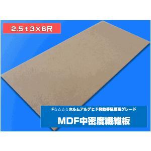特別送料表適用品 MDFボード 中密度 繊維板 2.5ミリ厚 約910×約1820ミリ  2.5mm 2.5t|frp