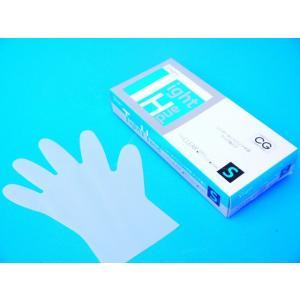 PEポリエチレン手袋 シンガータイトハンド 100枚入 /箱 クリア Sサイズ|frp