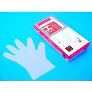 PEポリエチレン手袋 シンガータイトハンド 100枚入 /箱 クリア Mサイズ|frp