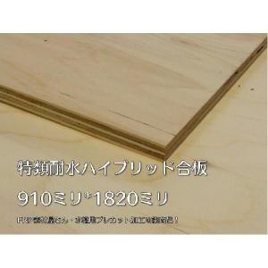 特別送料表適用品 耐水合板 耐水ベニヤ 15ミリ厚 910×1820ミリ 特類 国産の杉ヒノキ100%使用花粉対策に|frp