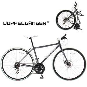 DOPPELGANGER 824 DUE 700Cクロスバイク 折りたたみ自転車|frps