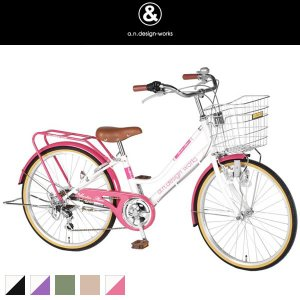 a.n.design-works 子供用自転車 FT246 24インチ|frps