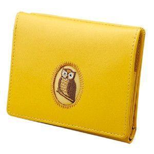 黄色いふくろう財布|frps
