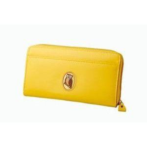 黄色いふくろうカード手帳入れ|frps