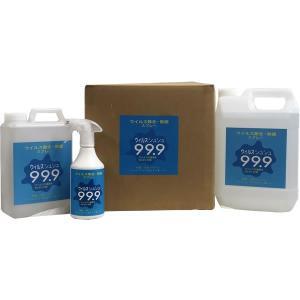 ウイルス除去・除菌スプレー ウイルスシュシュ99.9 日本製 500mlスプレー詰替用|frps|08