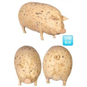 斑点模様の豚(小) FRPアニマルオブジェ 即納可|frps|03