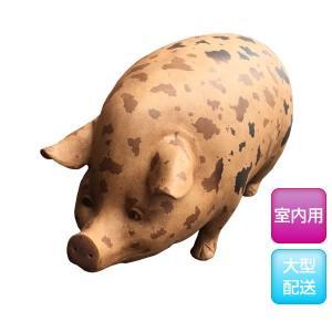 斑点模様の豚(室内用) FRPアニマルオブジェ 即納可|frps|03