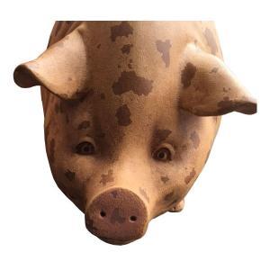 斑点模様の豚(室内用) FRPアニマルオブジェ 即納可|frps|04