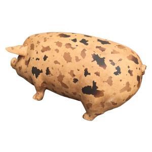 斑点模様の豚(室内用) FRPアニマルオブジェ 即納可|frps|05