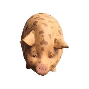 斑点模様の豚(室内用) FRPアニマルオブジェ 即納可|frps|06