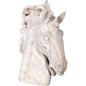 馬の頭部 FRPアニマルオブジェ|frps