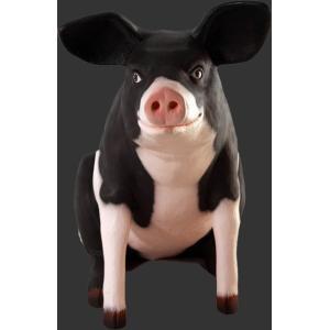 ゆかいな豚さんP&B FRPアニマルオブジェ 即納可|frps|02