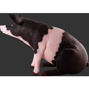 ゆかいな豚さんP&B FRPアニマルオブジェ 即納可|frps|05
