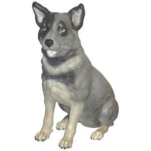 私におまかせ犬 FRPアニマルオブジェ 即納可|frps
