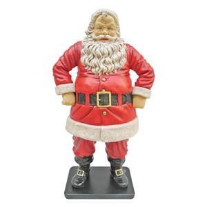FRPクリスマスオブジェ 陽気なサンタ 126cm|frps