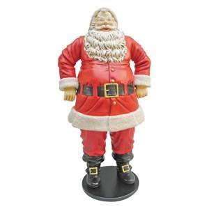 FRPクリスマスオブジェ 陽気なサンタ 188cm|frps