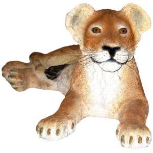 FRPアニマルオブジェ 親真似子ライオン|frps