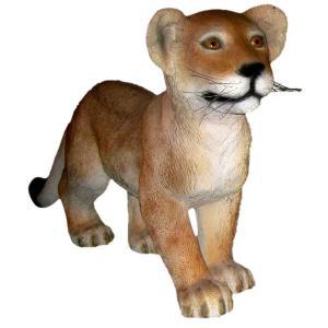 FRPアニマルオブジェ 歩く子ライオン 【即納可】|frps