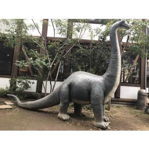 FRP恐竜オブジェ 草原のブロントザウルス 【即納可】|frps|02