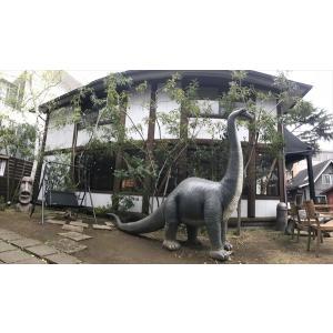 FRP恐竜オブジェ 草原のブロントザウルス 【即納可】|frps|05
