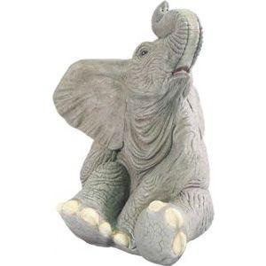 小象のたわむれ FRPアニマルオブジェ 即納可|frps