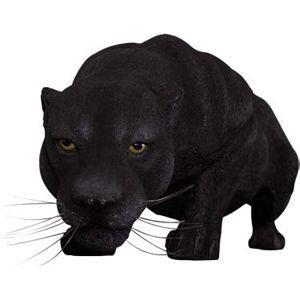 黒豹の跳躍 FRPアニマルオブジェ 即納可|frps