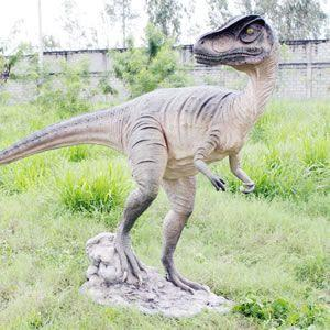 FRP恐竜オブジェ 振り向くアロサウルス|frps