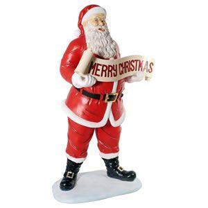 FRPクリスマスオブジェ クリスマスを祝うサンタ|frps