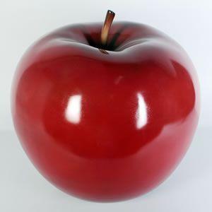 熟したりんご 【即納可】 FRPオブジェ|frps