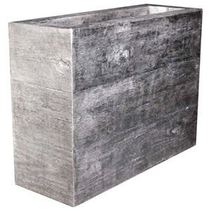 FRPプランター 木目調プランター[大] Old Lumber Planter|frps